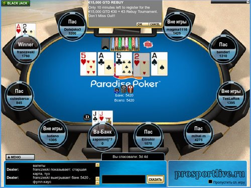 Казино Покер В Италии