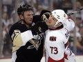 Первая драка Гончара в НХЛ за последние 14 лет