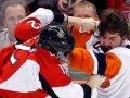 Игроки устроили массовую драку в чемпионате АХЛ (ВИДЕО)