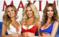 Жены российских футболистов в журнале Maxim