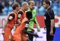 Первый матч на стадионе в Питере – и сразу скандал